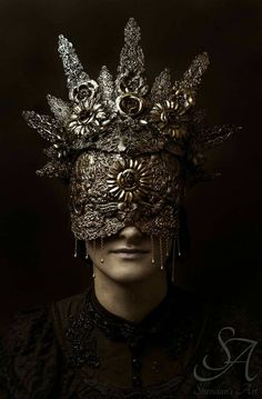 Blind Mask by HysteriaMachine on Etsy