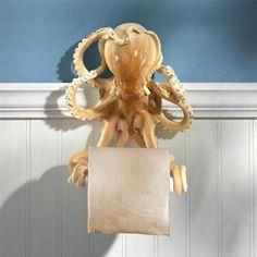 Octopus Bathroom Toilet Paper Holder
