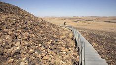 Mitzpe Ramon, Railroad Tracks, Country Roads, Train Tracks