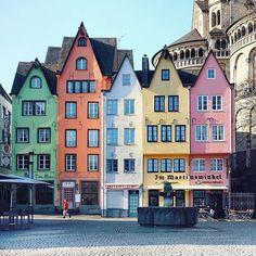 Cologne, Germany by @unamarinella