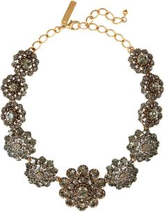 24karat Goldplated Crystal Necklace