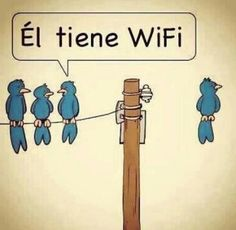 Wireless, Spanish joke.