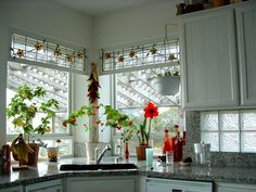 20 Kitchen Designs With Beautifully Stained Glass Windows | Pinterest |  Kitchen Design, Glass And Kitchens