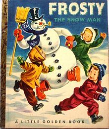 """""""Frosty The Snow Man"""" - Little Golden Book ... loved this book (and my now love for snowmen!)"""
