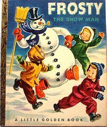 Little Golden Book - Frosty the Snow Man
