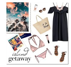 """""""Island Getaway"""" by mk-style ❤ liked on Polyvore featuring Same Swim, Boohoo, Billabong, J.Crew, Joie, Givenchy and Victoria's Secret"""