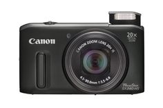 20x optical zoom, 25mm wide-angle lens, in a compact body. 39x with ZoomPlus HS System with 12.1 Megapixel CMOS and DIGIC 5 for stunning results even in low light Intelligent IS adapts the optical Image Stabilizer to the scene (7 modes) for sharp results Full HD movies (1080p) with stereo sound, optical zoom and HDMI Smart Auto (58 scenes) for the ultimate in point and shoot