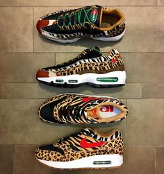 """40.4k Likes, 372 Comments - Sneaker News & Release Dates (@kicksonfire) on Instagram: """"A new atmos x Nike Air Max """"Animal"""" Pack will be releasing for Air Max Day 2018. Visit…"""""""