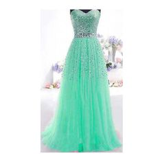 Sequins Decorated Strapless Green Maxi Dress (66 PLN) ❤ liked on Polyvore featuring dresses, vestidos, robes, green, tube maxi dress, sleeveless dress, green sequin dress, gauze maxi dress and strapless sequin dress