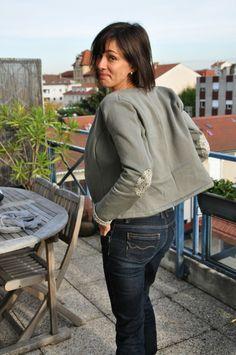Veste H Rue, Bomber Jacket, Dressing, Blog, Chic, Jackets, Fashion, Jacket, Shabby Chic