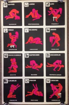 For Zodiac sexual positions chart not give