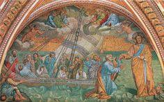Navicella. Pietarinkirkko. Giotto. 1298