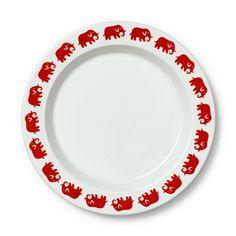 Servis Elefant Tallrik