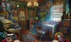 Editorial Office - game scene by aleksandr-osm