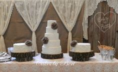Rustic Wedding Cakes - Rustic Wedding Ideas with Fairytale Style