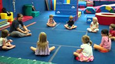 Kids move and learn and grow with this 50 minutes well rounded yoga for kids routine called GroovyKids yoga created by Greville Henwood. Gymnastics Warm Ups, Toddler Gymnastics, Gymnastics Levels, Preschool Gymnastics, Gymnastics Stretches, Tumbling Gymnastics, Gymnastics For Beginners, Gymnastics Lessons, Gymnastics Coaching