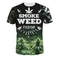 9cd8edca Varsanol Brand O Neck T Shirts For Men Casual Lovers T-Shirts 2018 Summer Hip  Hop Smoke Weed Polyester Comfortable Male Tees Hot.