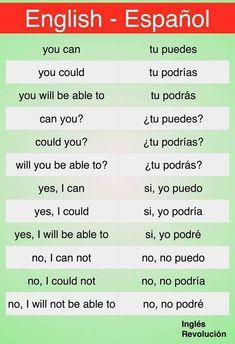 Englisch espanol