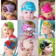 Unisex Headwear Faux Feather Rhinestone Hair Accessories Baby Boy Girls Headband £1.74 (Australia)