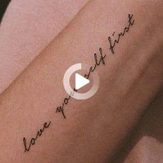 Your Time Is Limited Temporary Tattoo Set of 3 Forearm Tattoo Quotes, Simple Forearm Tattoos, Wrist Tattoos For Guys, Small Wrist Tattoos, Cute Tattoos For Women, Cute Little Tattoos, Meaningful Tattoos For Women, Cute Small Tattoos, Thigh Tattoo Designs