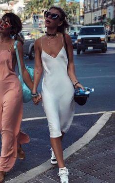 Ivory bias cut silk slip dress White bridal sheer nightgown Stretch silk slip wedding dress Wedding lingerie - Sheryl Ivory - Ck Under Wear Short Outfits, Trendy Outfits, Summer Outfits, Fashion Outfits, Girly Outfits, Slip Dress Outfit, Dress Outfits, Formal Wedding Attire, Prom Boutiques