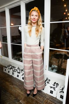 Roberta Benteler at the AVENUE32.COM Paul Andrew Dinner during NYFW // Your Weekend Outfit Inspiration Courtesy of Fashion Week Partygoers
