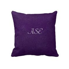dark purple pillow for my bed