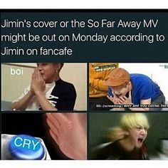 JIMIN YOU BETTER NOT BE KIDDING AROUND boi! WE ARE WAITING! Gi-give it to meh…