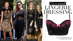 How to do lingerie dressing the right way
