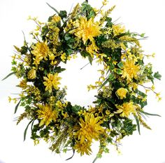 Spring Sunshine Wreath - Darby Creek Trading | Darby Creek Trading