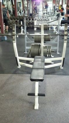 Check out what I just listed on eBay - Cybex Olympic Bench - $295 http://r.ebay.com/KxluuL via @eBay