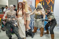 """""""Mad Max"""" cosplay is huge this year. We've seen everyone from Immortan Joe to the breeders."""
