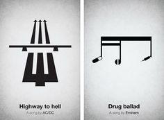 Songs converted in logos!
