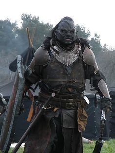 This Orc looks ready to finish what somebody else started.
