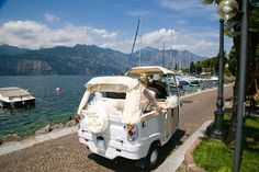 Tuk Tuk_Romantic Weddings on Lake Garda. Wedding planners for the most romantic Lake Garda weddings in Italy. Most Romantic, Romantic Weddings, Lake Garda Wedding, Wedding Car, Italy Wedding, Photo Galleries, Gallery, Wedding Planners, Lake Garda