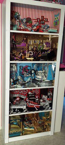 mein mega riesen Monster High Haus :D   Flickr - Photo Sharing!
