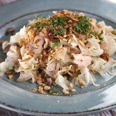 Vietnamese style daikon salad