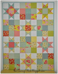 A Finished Quilt - Happy Baby II