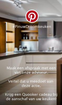 Stap 6 van Pin uw Droomkeuken #pinuwdroomkeuken #keukenstudio #maassluis #keukens #kitchen #inspiratie #quooker #win