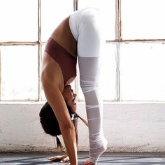 @biancamaycheah being a goddess in our Mesh Goddess Legging & Sunny Strappy Bra. #aloyoga #beagoddess