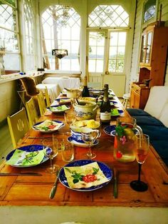 Table Settings, Country, Rural Area, Place Settings, Country Music, Tablescapes