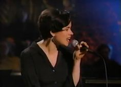 Natalie Merchant performing with 10,000 Maniacs on MTV's Unplugged