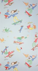 Skateboarders - Quentin Blake wallpaper!