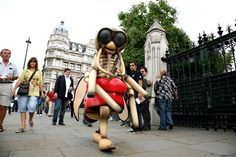 #Mozzyman takes in London's sights