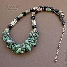 Tribal Jewelry, Boho Jewelry, Jewelry Art, Beaded Jewelry, Jewelery, Jewelry Necklaces, Jewelry Design, Glass Jewelry, Stone Jewelry