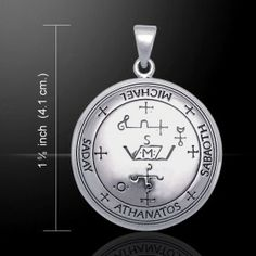 Sigil of Archangel Michael Pendant (Sterling Silver)