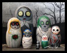 horror nesting dolls