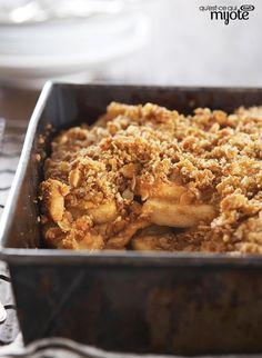 Croustillant aux pommes #recette