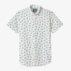 big sale 43211 e529c Carousel Product Image Flamingo Party, Cockatoo, Short Sleeves, Mens Fashion,  Blue,
