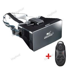 RITECH Virtual Reality 3D Glassed Kit + Wireless Game Controller KB-374713